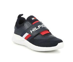 Boy's Tommy Hilfiger Cadet Strap Sneaker Navy Size: US 2
