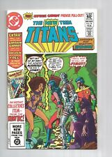 NEW TEEN TITANS #14 #15 #16 #17 #18 #19 #20 Cyborg Starfire GEORGE PEREZ vf+