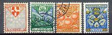 Nederland  199 - 202 gebruikt (1)