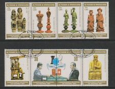 Chess Used Sao Tomean Stamps