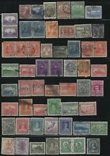 NEWFOUNDLAND - USED STAMPS LOT QUEEN VICTORIA JOHN GUY ROYAL FAMILY CARIBOU
