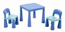 Liberty House Tavolino per Bambini con 2 sedie Blu Blau