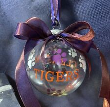 CLEMSON TIGERS ORNAMENT NEW GIFT BOXED BY REESE ORIGINALS