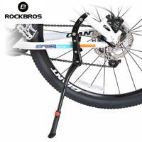"RockBros Bicycle Single Leg Kickstand 24""-29"" Mountain Bike Stand Parking Black"