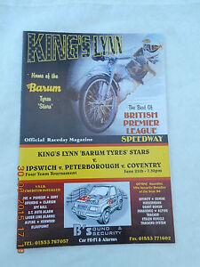 KING'S LYNN SPEEDWAY  25 JUNE 1995  FOUR TEAM TOURNAMENT