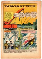 DINOSAURUS #1120 Four Color 1960 DELL Monster Movie COVERLESS Comic Book