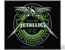 metallica - Beer Label - WOVEN  PATCH - free shipping
