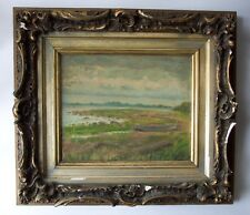 SAMUEL WILSON FRAZER 1866-1954 Seascape Painting Signed Listed TWACHTMAN Student