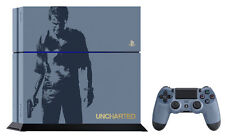 Sony PlayStation 4 Uncharted 4: Limited Edition Bundle 500GB Gray Blue Console