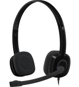 Logitech H151 Wired Audio Jack Headset