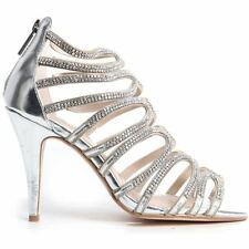 Zip Stiletto Evening Shoes for Women