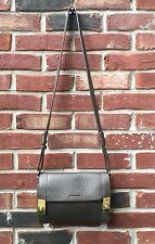 $295 See By Chloe Taupe Brown Pebble Leather Jill Crossbody Bag RARE!