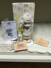 Enesco Precious Moments Figure 527289 Bless Those Who Serve Their Country 1991''