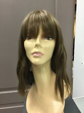Forever Young INDIE WAVES Loose Waves and Bangs HD Synthetic Wig, Golden Brown