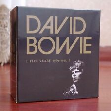 """New David Bowie """"Five Years 1969-1973"""" 12 CD Discs Box Set Collection"""