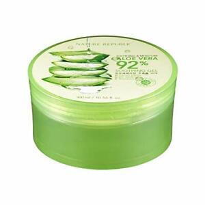 Nature Republic Soothing Moisture Aloe Vera Gel 92 percent 10.56 fl.oz./ 300 ml