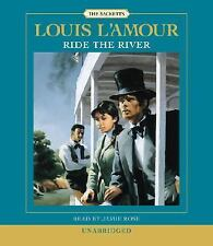 Louis L'Amour RIDE THE RIVER Unabridged CD *NEW*$25 Value FAST Ship!