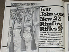 SHOOTING TIMES TESTS THE IVER JOHNSON LEVER ACTION & SEMI 22 RIFLES