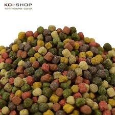 KOIFUTTER *8 Sorten Multi Color Mix* 5 kg Spirulina Astax Grower Pelletgröße 6mm