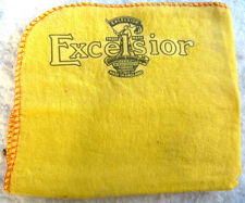 EXCELSIOR MOTORCYCLE: NEW LARGE HIGH QUALITY CLEANING DUSTER CLOTH WITH LOGO