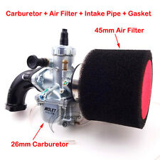Molkt 26mm Carby Intake Air Filter For Lifan YX 140cc 150cc 160cc Pit Dirt Bike