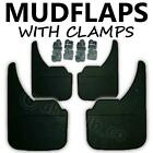 4 X NEW QUALITY RUBBER MUDFLAPS TO FIT  Rover 2000-3500 UNIVERSAL FIT