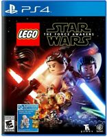 PLAYSTATION 4 PS4 VIDEO GAME LEGO STAR WARS THE FORCE AWAKENS BRAND NEW