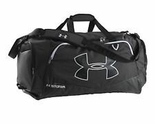 NEW Under Armour Undeniable Large Black Duffle Bag gym travel sports luggage