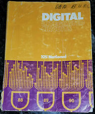 Used 1974 National Digital Integrated Circuits Databook