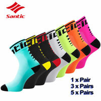 Santic Cycling Low Socks Anti-sweat Outdoor Sport Breathable Running Bicycle Lot