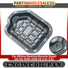New Lower Engine Oil Pan for Nissan Altima Maxima Murano Quest I30 I35 2000-2009