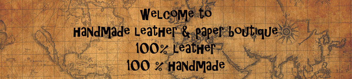 Handmade Leather and Paper Boutique