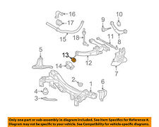 48752-21010 Toyota Stopper, rear suspension support 4875221010, New Genuine OEM