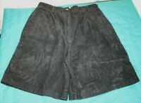 Christopher & Banks Womens Size 16 Black Corduroy Shorts High-Rise NICE!