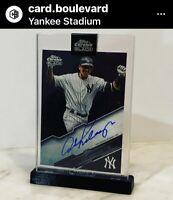 Alex Rodriguez 2020 Topps Chrome Black #CBA-ARD Autograph AUTO Yankees  🖊 📈