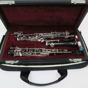 Fossati MB Model Professional Full Conservatory Oboe MINT CONDITION