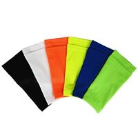 For Kids Adult Sports Shin Guard Socks Football Calf Sleeves With Pocket UK