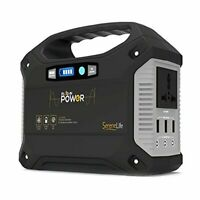 SereneLife SLSPGN20 Solar Panel Compatible Rechargeable Battery Power Generator