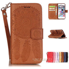 Luxury Wallet Magnetic Flip Leather Case Cover for iPhone X SE 5 6 6s 7 8 Plus
