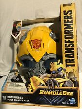 Brand NEW Hasbro Action Figure Bumblebee Voice Changer Mask Transformers in box