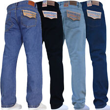 Mens Straight Leg Jeans Good Quality Denim Extra Short to Extra Long Legs
