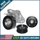 Drive Belt Tensioner W 2 Idler Pulleys Set For Mercedes Benz 272027014191019