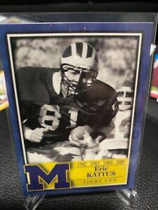TK Legacy ERIC KATTUS Michigan Wolverines Football card tight end legend base