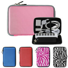 Nylon Cube Slim Travel Storage Case Cable Accessories Charger Portable Organizer