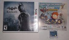 Batman: Arkham Origins Blackgate (Nintendo 3DS, 2013) No Manual