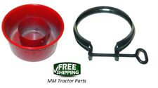 AIR CLEANER OIL CUP & CLAMP IH FARMALL A AV B BN Super A OLIVER 60 66 COCKSHUTT