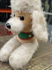 More details for vintage retro soft toy mohair dog poodle ussr