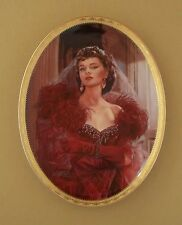 Gone With The Wind CAMEO MEMORIES Oval Plate RUBY REBELLION #3 Third Issue