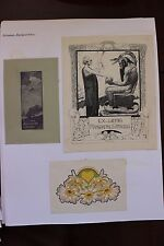 ✒ EX LIBRIS Margarethe Strauss par Franz Tassen & Jay K Chambers