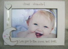 personalised photo frame 6x4 inch. GREAT GRANDAD  love you to the moon and back